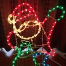 クリスマス STAR GLOW サンタチューブライト 50㎝