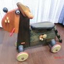 テデ社(tede)の木製動物バイク