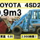 トヨタ 4SD23 ショベルローダー 3.966時間
