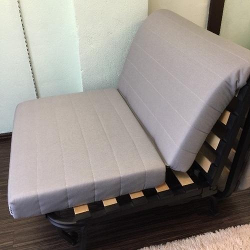 Ikeaソファベッドすのこマットレス付き美品ブルー Tae 新宿のベッド