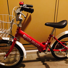 子供用自転車 16インチ 赤