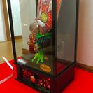 ❺特選オルゴール付きケース入り👍浅妻伝統美術品お正月置物