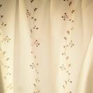 値下げ!カーテン+レースカーテンセット(小窓用)2500円!