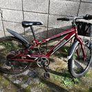 子ども用自転車レッド22インチ!