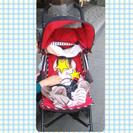 マクラーレンベビーカー ケイトスペードモデル ミッフィーおもちゃ付きの画像