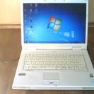 ノートパソコン FUJITSU FMV-NF40T 8800円