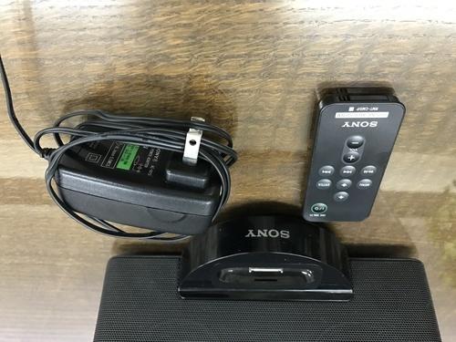 8f20e78c52 SONY SRS-GM5IP iPod/iPhone用 ドックスピーカー (あいう) 渋谷の ...