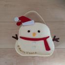★新品★ゆきだるま スノーマン フェルトバッグ クリスマス