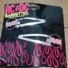 AC/DC ヘアピン 新品 アメリカで購入