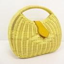 値下げ中!新品の上質な藤の籠バッグ。 とてもお洒落!3000円。