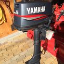 ヤマハ船外機 5馬力、2サイクル