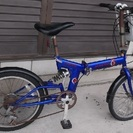 ■折り畳み自転車●6段外装20インチ★前かご付<BACINI CO...