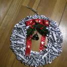 パスタ の クリスマスリース 銀色です。 手作りです。