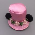 ミニーちゃん帽子型 ヘアピン