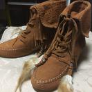 【新品】茶色ブーツ