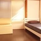 石山駅3LDK、家具寝具付、無料Wi-Fi