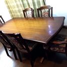【値引き❗️セール❗️】カリモク!! 6人掛けダイニングテーブル