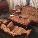 アンティーク家具 テーブルソファ
