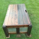 DIY  ガーデンベンチストッカー再構成