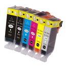CANON 互換インクカートリッジ 6色セット