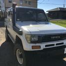 ランクルプラド78 リフトアップ - トヨタ