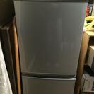 SHARP シャープ 2ドア 冷凍、冷蔵庫