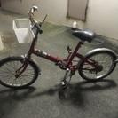 ブリジストン製 折り畳み自転車