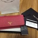 PRADAサフィアーノ長財布❤️渋谷西武で今年買いました!