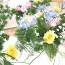 日本橋三越にて「カフェでいけばな」開催!の画像