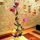 日本橋三越にて「カフェでいけばな」開催! - フラワー