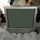 シャープ製ブラウン管25型テレビ