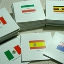 ♤【 未使用 】フェリシモ 国旗 メモ 47冊🇷🇺 🇪🇸 🇩🇪