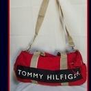 TOMMY HILFIGERのドラム型ボストンバッグL(BGV)
