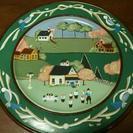 トールペイントの絵皿