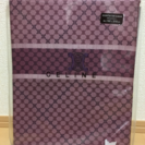【新品】【未開封】セリーヌ掛け布団カバー 紫色