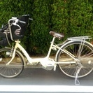 【交渉中】電動自転車 (バッテリー3つ付 後ろ乗せ付)
