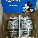 Disney ミッキー グラス 2セット