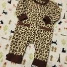 【美品】ベビー70サイズ 豹柄 ロンパース