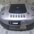 [終了]【引取り希望】【ジャンク】カシオ CDラジカセ CD-70D