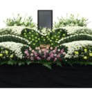 安城市総合斎苑限定・小さな負担で花いっぱいの家族葬 − 愛知県
