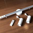 【無印良品MUJI】スポットライト5個&レール2台セット(照明器具/シーリングライト) - 家具