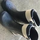 新古品 クロックス 長靴 M10 W12