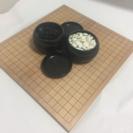 折れ碁盤 碁石