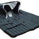 ツートンカラードレスシャツ