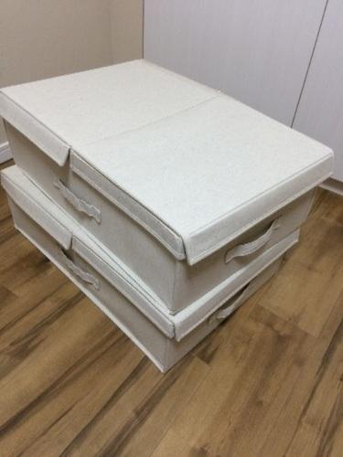 無印良品ベッド下収納ケース二個セット - 京都市