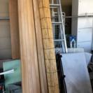 和室をフローリングに  木のラグの画像