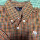 POLO チェックシャツ 100cm