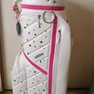 ゴルフ女子👩必見✨アディダスキャディーバック⛳