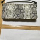 ORTICO(オルティコ)ブランド蛇革ミニバッグ(新品同様品)