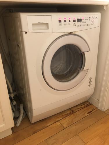 無印良品 乾燥機付ドラム式 洗濯機 M WD85A 2005年式の画像